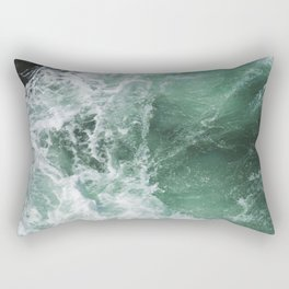 Turbulent Waters Rectangular Pillow
