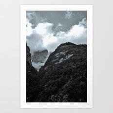 Peak  Art Print