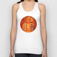 nori Tank Tops featuring Forest Family by MelColley