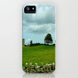 Speeding By The Irish Countryside iPhone Case