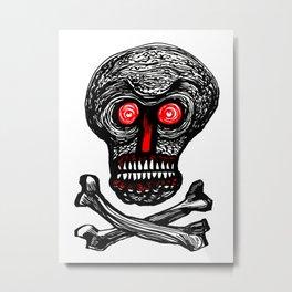 Skullhead One Metal Print