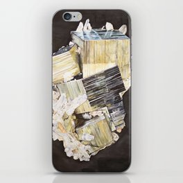 Pyrite and Quartz iPhone Skin