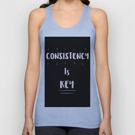 Consistency is KEY Unisex Tank Top