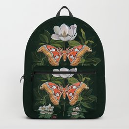 Atlas Moth Magnolia Backpack