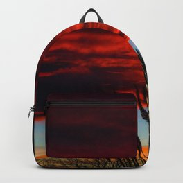 Winter Sunset Backpack