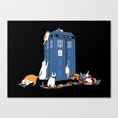 Who Cats Canvas Print