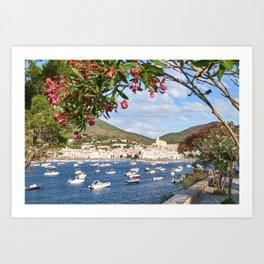 Cadaques, Spain.  Art Print