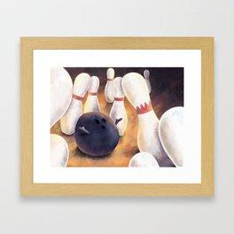 Kingpin by dana alfonso Framed Art Print