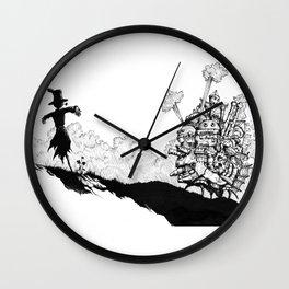 Howl no Ugoku Shiro Wall Clock
