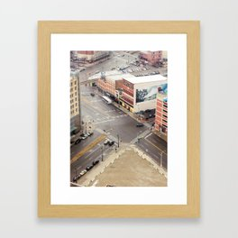 Downtown Detroit 3 Framed Art Print