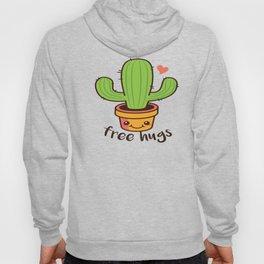 Free Hugs Cactus Hoody