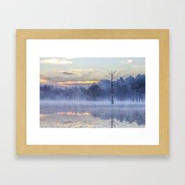Adams Mill Pond 44 Framed Art Print