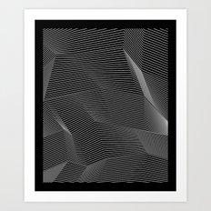 Minimal lines Art Print