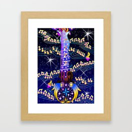 Fusion Keyblade Guitar #172 - Counterpoint & Star Seeker Framed Art Print