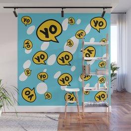 Yo Wall Mural