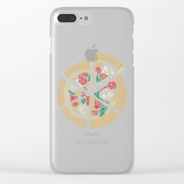 Pizza Pizza Clear iPhone Case