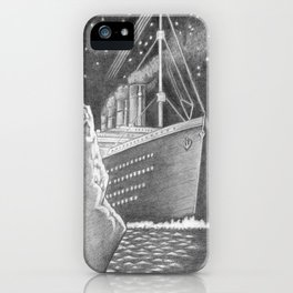 Illustration of a famous ship iPhone Case
