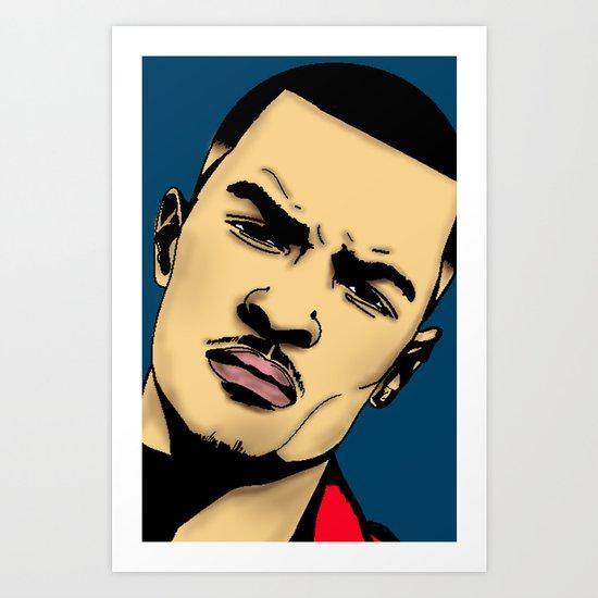 T.I Art Print