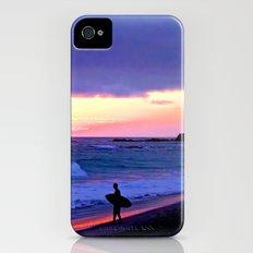 Sunset Skimboarder iPhone (4, 4s) Slim Case