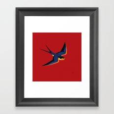 Barn Swallow Framed Art Print