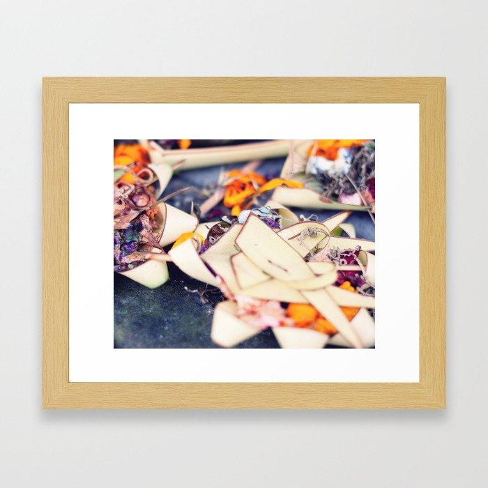 Offerings! Framed Art Print