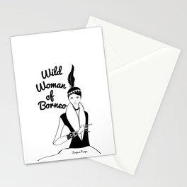 Von, Wild Woman of Borneo Stationery Cards