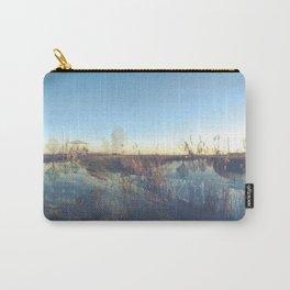 A river landscape (double exposure) Carry-All Pouch
