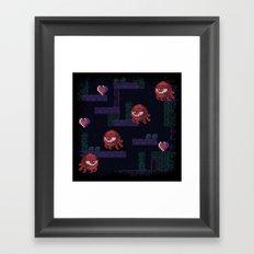 Monoeyes Framed Art Print