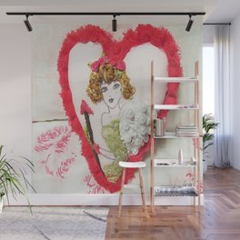 Cupid Girl Wall Mural