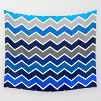 surf Wall Tapestries featuring Surf by voop