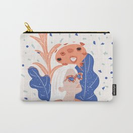 Thinkin About Kissin You Carry-All Pouch
