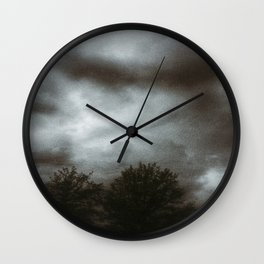 Storm Brewing Wall Clock