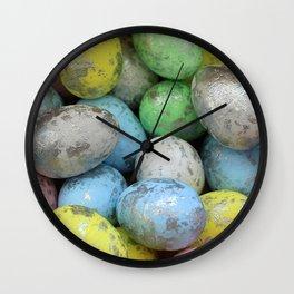 Easter Egg Hunt Wall Clock