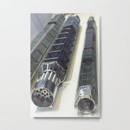 Fuel Assemblies Metal Print