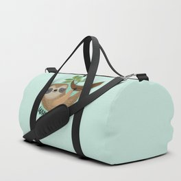 Sloth says... What Fucking Ever Duffle Bag