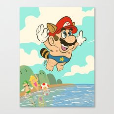 Super Mario! Canvas Print