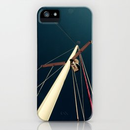 sailboat flare. iPhone Case