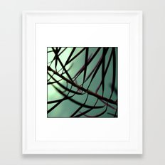 plant. Framed Art Print