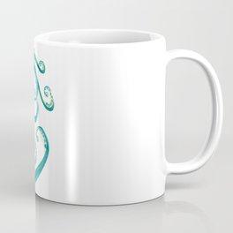 Watercolor Octopus Coffee Mug