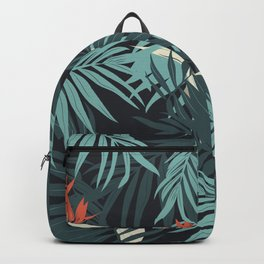 Vector illustration tropical paradise Backpack