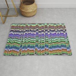 Textured Mosaic Layers Rug