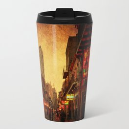 Bourbon Street Grunge Travel Mug