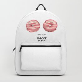 Donut unlock Backpack