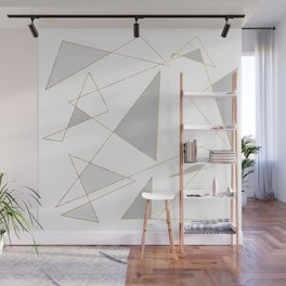Duo of Triangles Wall Mural