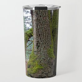 TWO BIG LEAF MAPLE TREES Travel Mug