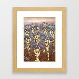 Womanity Framed Art Print