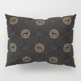 GOLD AND BLACK WEIMARANER Pillow Sham