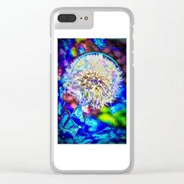Pusteblume - dandelion Clear iPhone Case