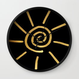 as sure as the sun Wall Clock