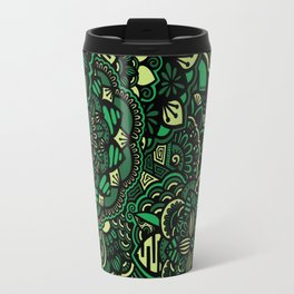 Into the Wild - Green Travel Mug
